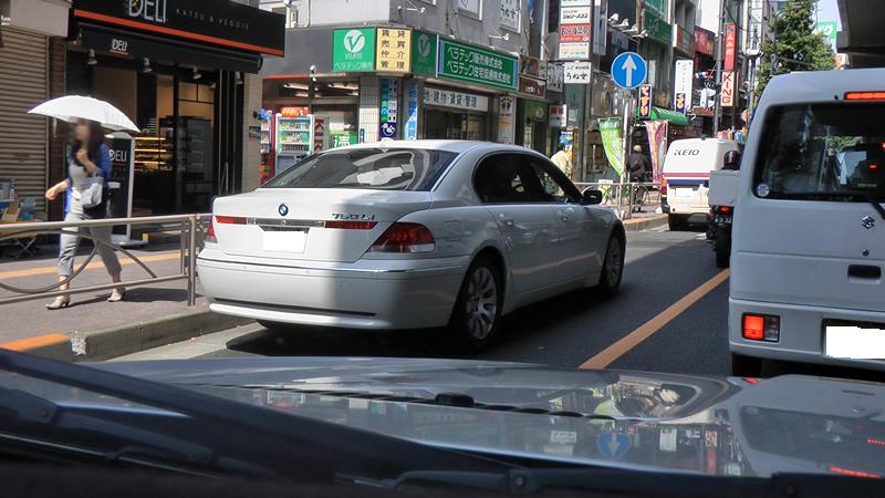 BMWの7シリーズの頂点、760Liの画像です